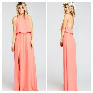 Show Me Your MuMu Heather Halter in Coral